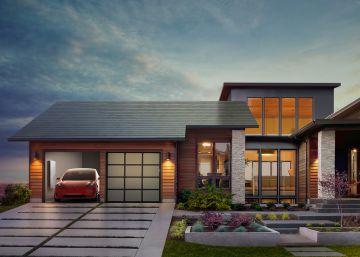 Tesla lanza un techo solar que no lo parece