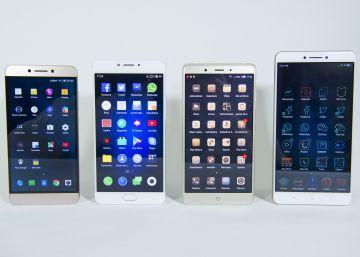 Los móviles 'max' chinos que arrasan en ventas