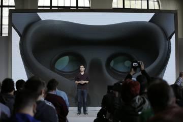 Clay Bavor, vicepresidente de realidad virtual real de Google, habla sobre los avances en esta cuestión en durante un evento en San Francisco.