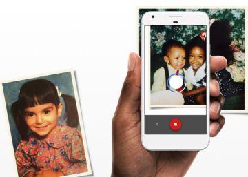 Google lanza PhotoScan, una 'app' para escanear fotos antiguas con el móvil
