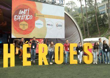 Bogotá impulsa el emprendimiento en Héroes Fest