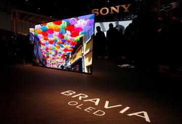 Sony Bravia OLED integra los altavoces en la pantalla.