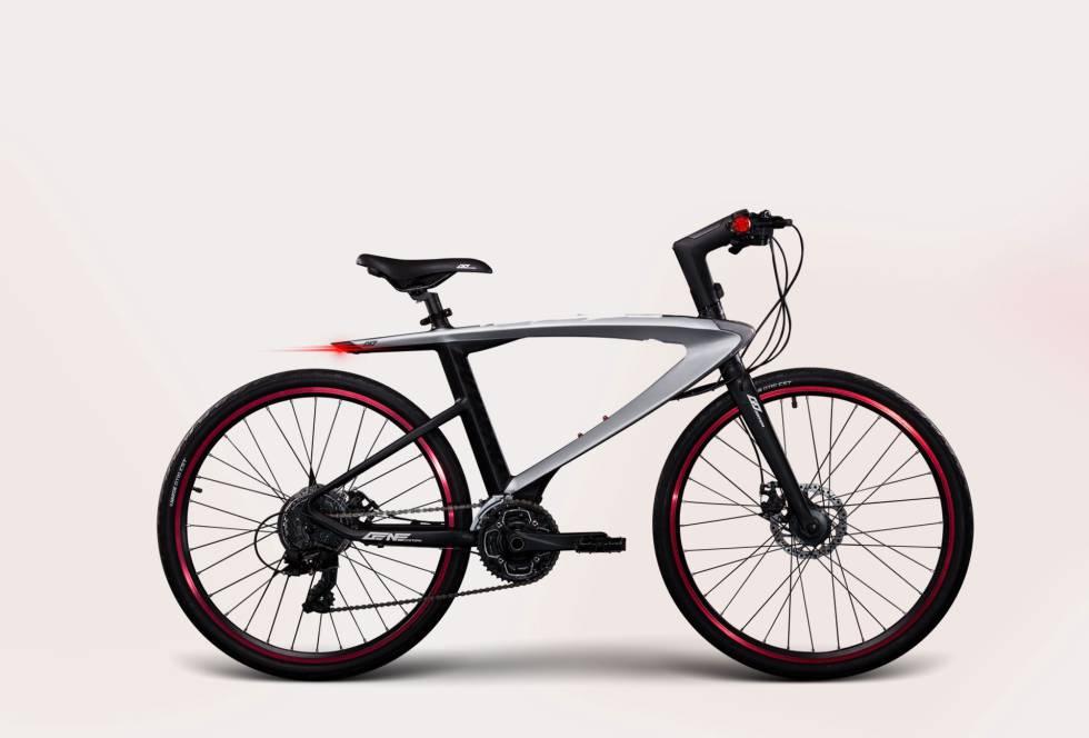 La bici inteligente de LeEco.