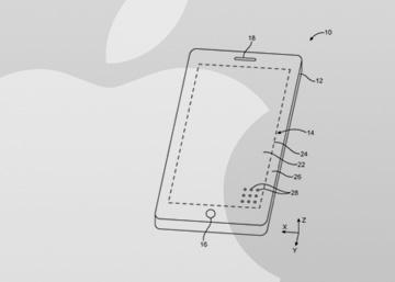 Apple patenta un 'smartphone' que es todo pantalla