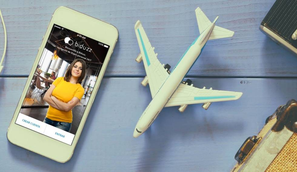 Biduzz es una aplicación que ofrece agentes turísticos 24 horas al día y los 7 días de la semana.