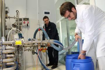 Planta piloto para probar tecnologías avanzadas de higienización.