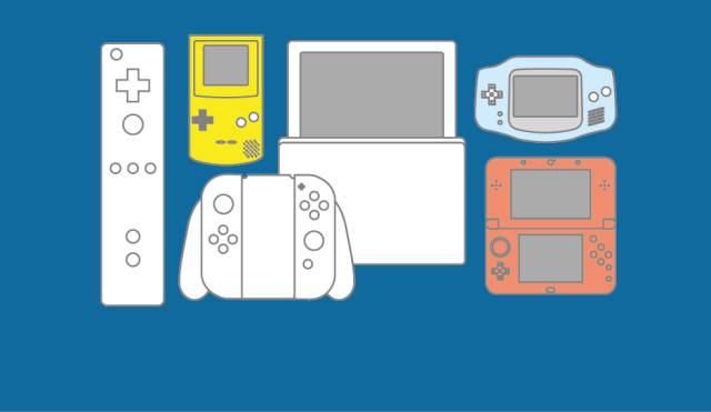 Todas las consolas de Nintendo año a año