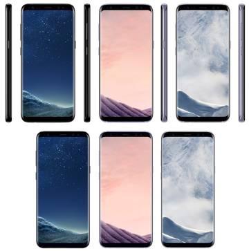 Foto del nuevo Galaxy S8, filtrada por @evleaks.