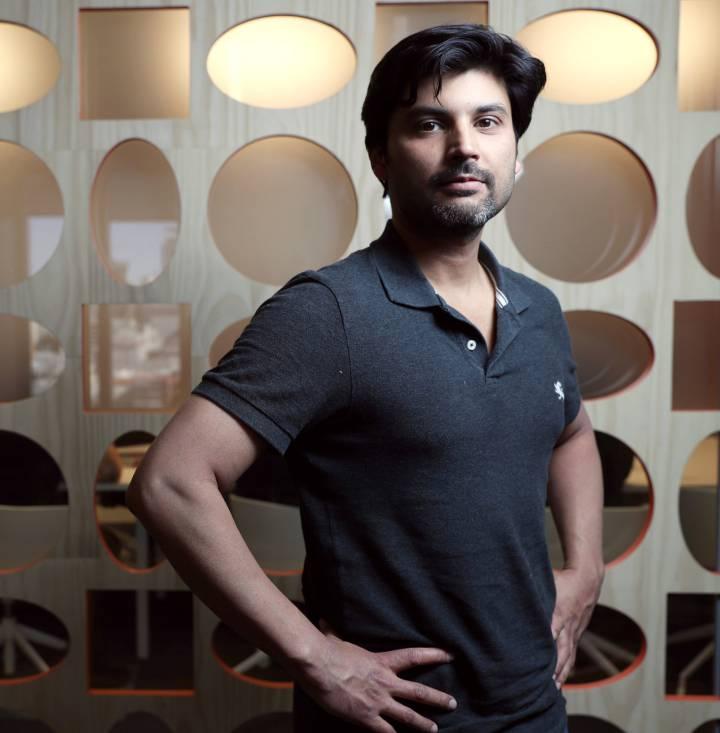 Saad Ansari, CEO de Connecterra, en las instalaciones de Google.