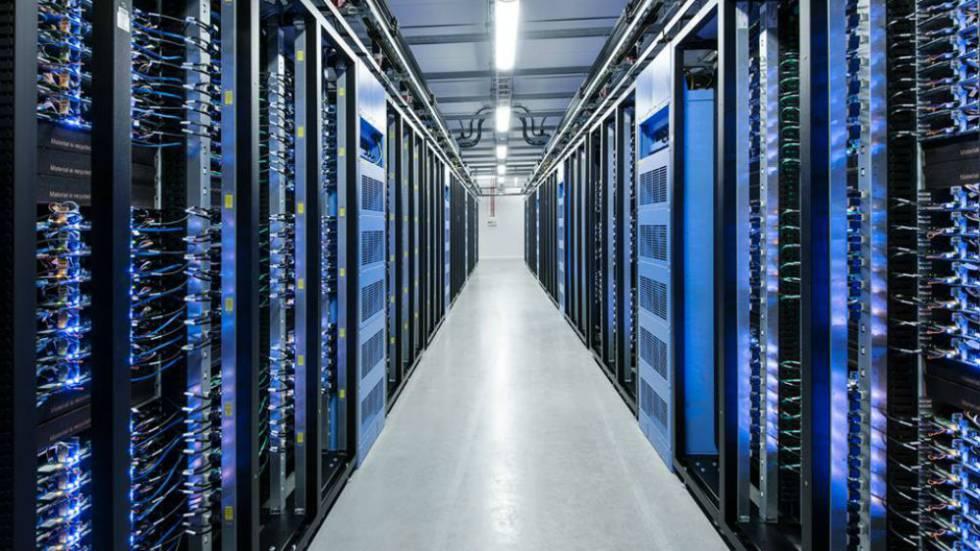 El centro de datos de Facebook en Lulea.