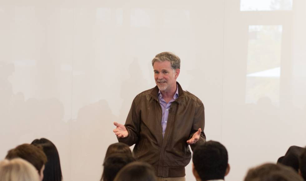 Reed Hastings, fundador y CEO de Netflix.