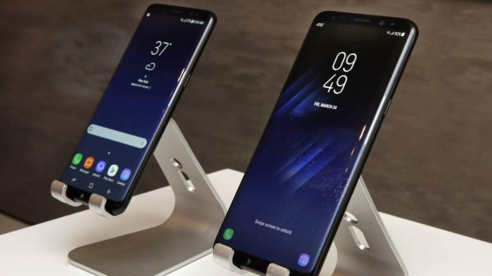 Los nuevos Samsung Galaxy S8 y S8+.