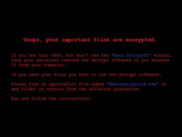 Cuando el virus infecta el ordenador, esta imagen aparece ebn el fondo de escritorio.