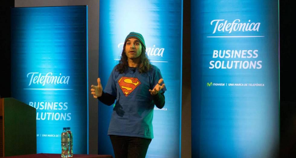 Chema Alonso, responsable de datos (Chief Data Officer) de Telefónica.