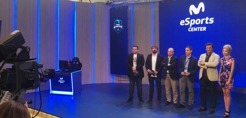 Presentación del Movistar eSport Center, en Madrid Matadero.