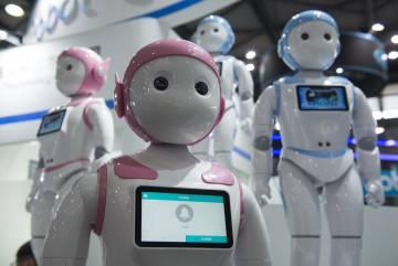 El robot iPal ha sido diseñado como compañero de niños y cuenta con diferentes programas educativos y de control, al estilo de una niñera.