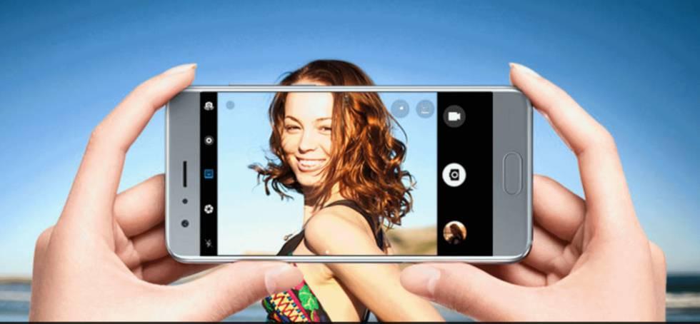 La pantalla es de 5,15 pulgadas con FullHD y grabación en 4K.