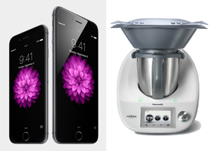 Comparativa: ¿iPhone 6 o Thermomix TM5?