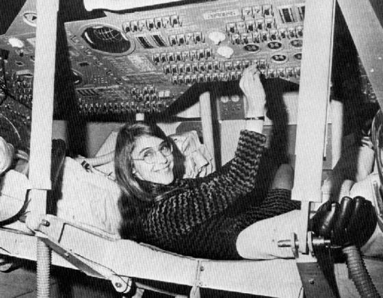 Margaret Hamilton, la pionera de la programación que llevó el Apolo a la Luna