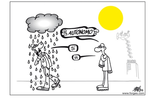 Image result for autonomos cobrar viñeta