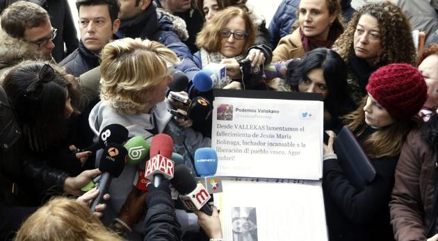 Esperanza Aguirre, con el tuit de la discordia.