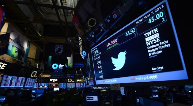 La bolsa de Nueva York, el día en el que Twitter comenzó a cotizar