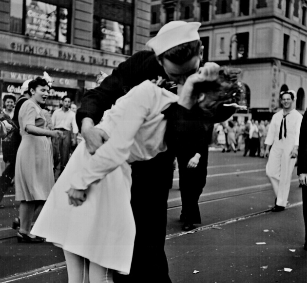La foto del beso de Times Square de Victor Jorgensen.