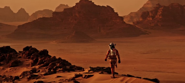 Fotograma de 'The Martian'