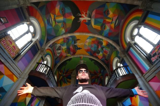 A igreja que trocou o crucifixo pela arte urbana