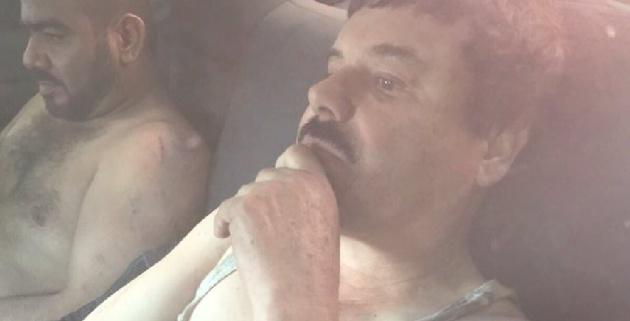 Esta foto ha sido tuiteada por algunos usuarios como 'El Chapo planeando su próxima fuga'