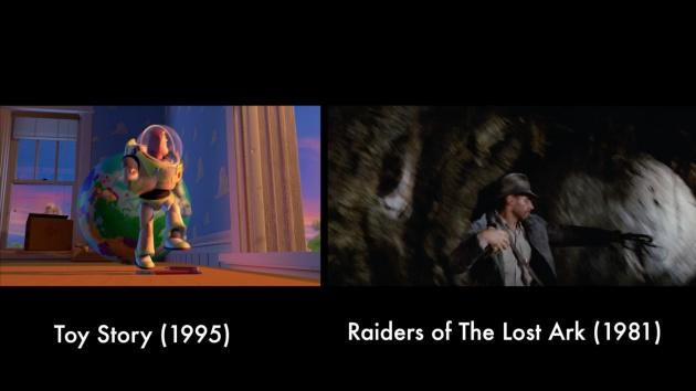 El homenaje de Toy Story a En busca del arca perdida