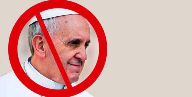 No al Papa