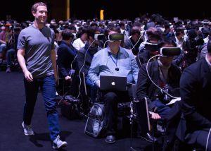 A inquietante foto de Zuckerberg que parece filme de ficção-científica