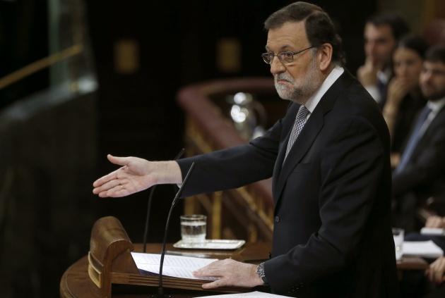 Rajoy debate de investidura