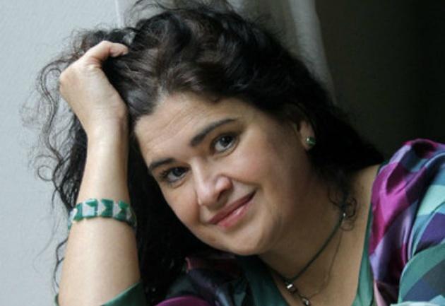 La escritora Lucía Etxebarria