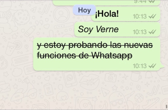 Guia básico para usar itálico, negrito e outras novidades do WhatsApp
