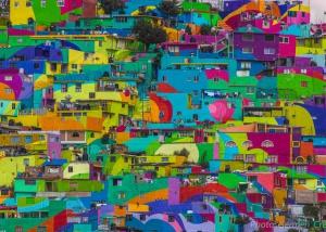 Os muralistas mexicanos que pintaram um bairro inteiro
