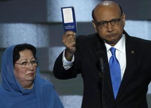 O discurso do pai de um militar muçulmano contra o racismo de Trump