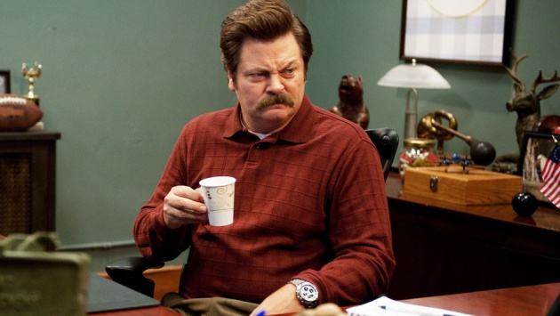 Ron Swanson vuelve a trabajar ('Parks and Recreation')
