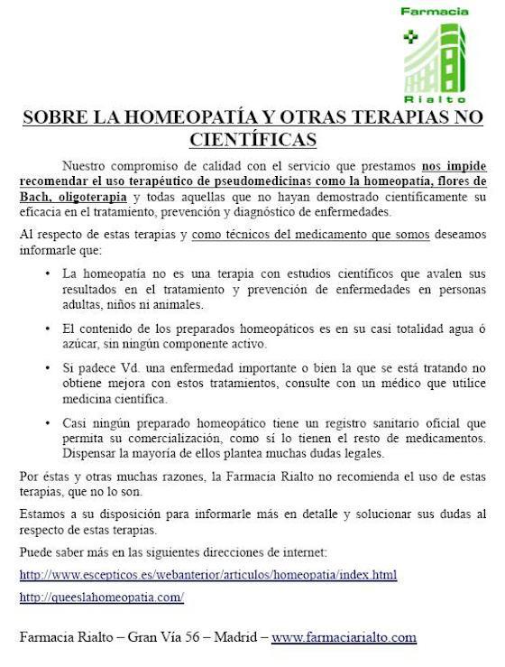 Homeopatía. Video de explicación y denuncia por James Randi. 1471528258_243562_1471529934_sumario_normal