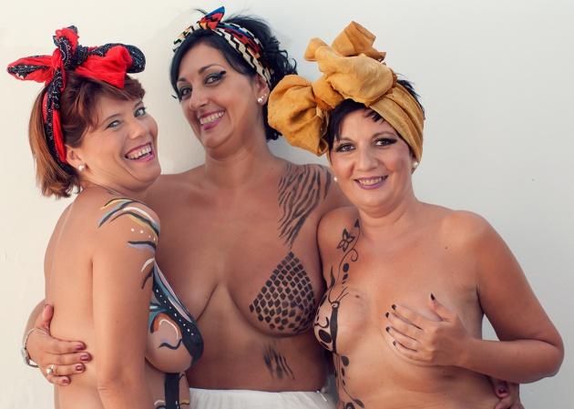 'Únicas e Corajosas', um projeto fotográfico para recuperar o otimismo após o câncer de mama