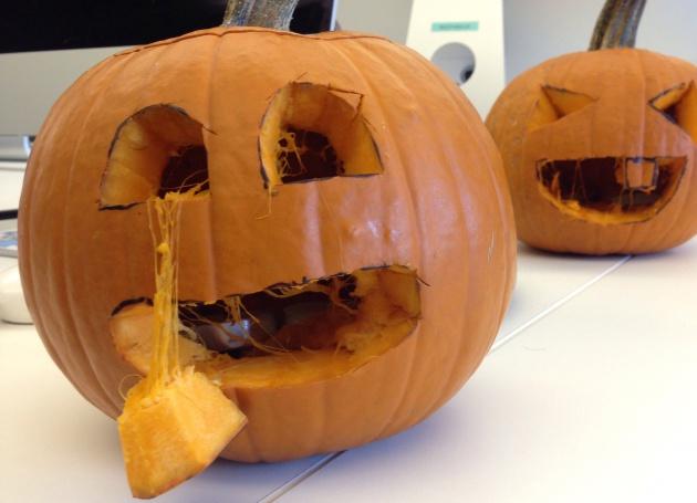 Probamos a hacer calabazas para halloween y es facil simo verne el pa s - Como hacer calabazas de halloween ...