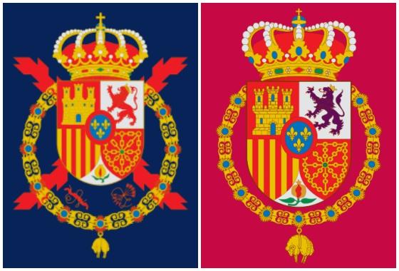 Cruz de Borgoña en el emblema de Juan Carlos I