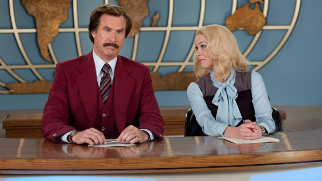 'Ron Burgundy' (Will Ferrell) sí daba noticias de fiar