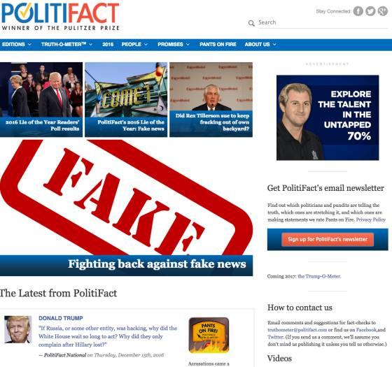 Snopes, FactCheck e Politifact: os sites que ajudarão o Facebook a detectar notícias falsas