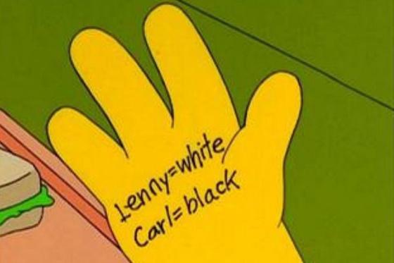 Homer optou por recorrer ao truque mais habitual.