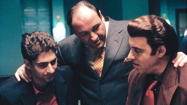 Em 'Família Soprano', os personagens se aproximavam muito quando queriam se ameaçar.