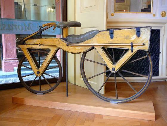 A bicicleta de Von Drais