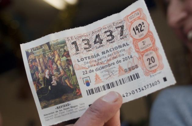 El número del Gordo de 2014