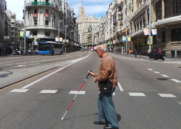 Imagen de la Federación de Asociaciones de Personas Sordociegas de España (FASOCIDE), una de las asociaciones que promueven este bastón.